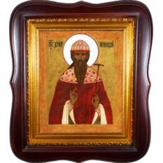Дионисий Радонежский Преподобный. Икона на холсте.