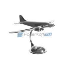 Настольная малая модель самолета Douglas DC-3