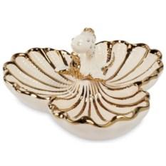 Менажница Art Ceramic Золотая рыбка