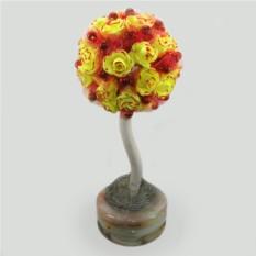 Дерево-топиарий из коралла Юбилейное