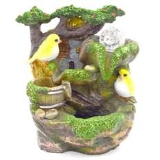 Декоративный фонтан Птички, высота 25 см