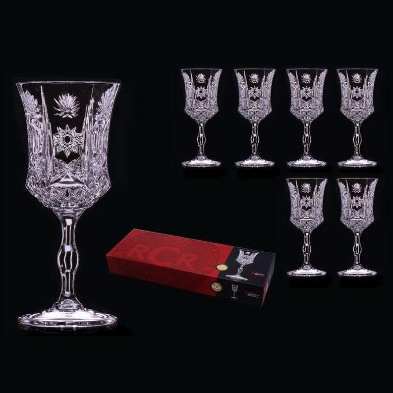 Набор из 6 бокалов для вина 100 мл RCR Имперо