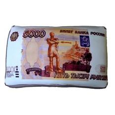 Декоративная подушка Пять тысяч