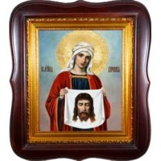 Вероника Кровоточивая Святая мученица. Икона на холсте.