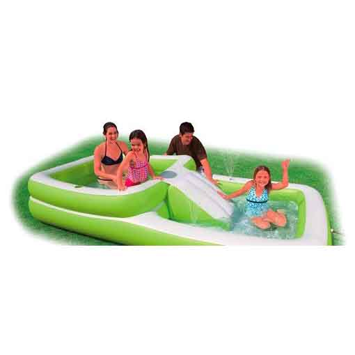 Надувной игровой центр-бассейн «Горка»