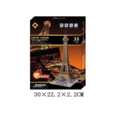 Пазл 3D Эйфелева башня из 35 деталей