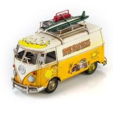 Модель ретро-автобуса Bamber bridge beetles с фоторамкой