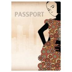 Обложка для паспорта Girls
