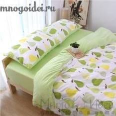 Комплект трикотажного постельного белья Любимые фрукты