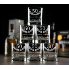 Большой набор бокалов для виски Юбилейный