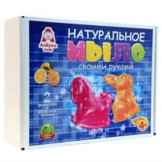 Детский набор для изготовления мыла «Заяц и Лошадка»