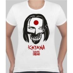 Женская футболка Отряд самоубийц Katana