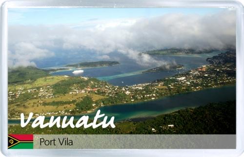 Магнит на холодильник: Вануату. Порт-Вила