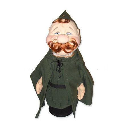 Кукла-бар под бутылку Солдат