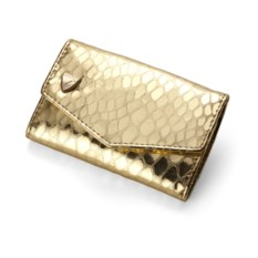 Золотистый маникюрный набор Snakeskin