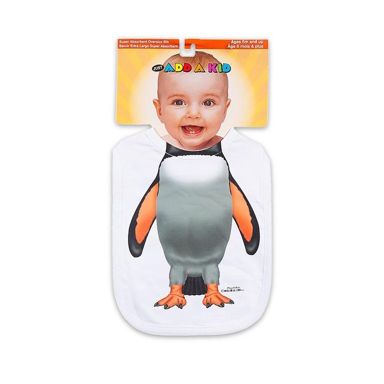 Слюнявчик Пингвин