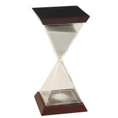 Часы песочные с белым песком (на 15 минут)