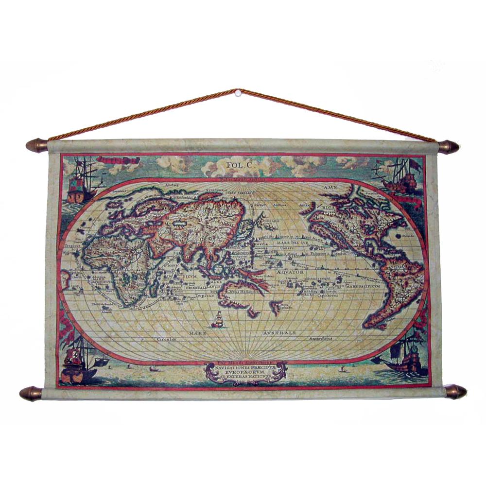 Репродукция старинной карты