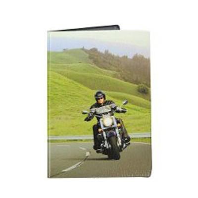 Обложка для паспорта Мотоциклист