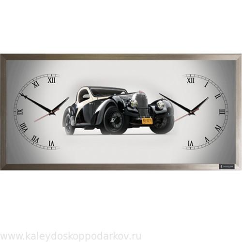 Настенные часы из песка Ретро машина