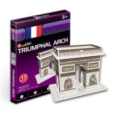 Пазлы Cubic Fun Триумфальная арка. Франция