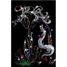 Картина с кристаллами Сваровски Сказка