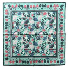 Шейный шелковый платок Cacharel