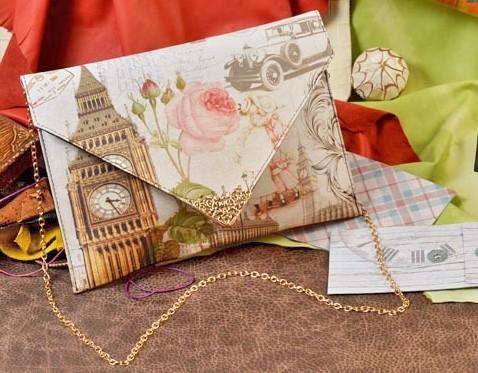 Клатч - конверт Англия