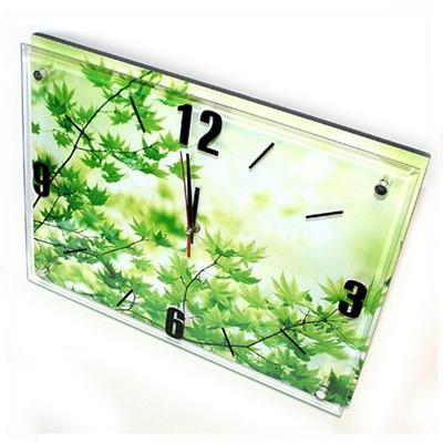 Часы на батарейках «Ветки клена»