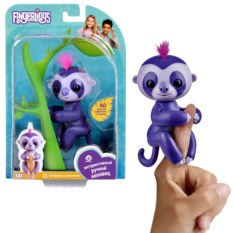 Интерактивная игра Fingerlings «Ленивец Мардж»