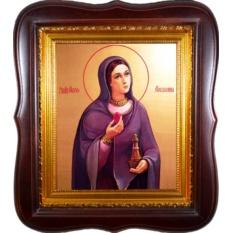 Мария Магдалина Святая равноапостольная. Икона на холсте.
