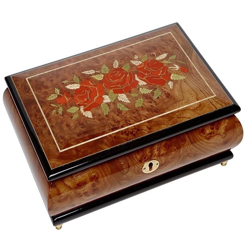 Музыкальная шкатулка для ювелирных украшений, AW-02-072