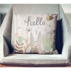 Декоративная наволочка Крошка-зайчик