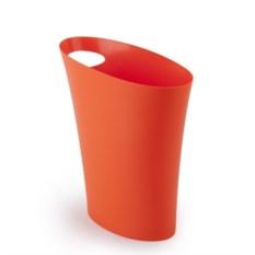 Оранжевый мусорный контейнер Skinny