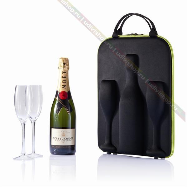 Кейс для переноски шампанского Flute