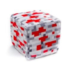 Плюшевый куб-подушка Красный камень