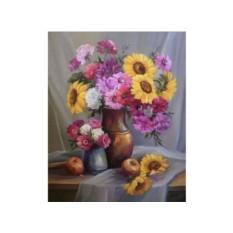 Картины по номерам «Осенний букет»