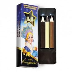 Шоколадные карандаши от Снегурочки
