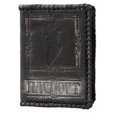 Мужская кожаная обложка для паспорта