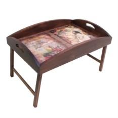 Столик для завтрака в постель с высоким бортиком В мечтах