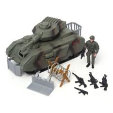 Игровой набор Военные танк с аксессуарами или самолет