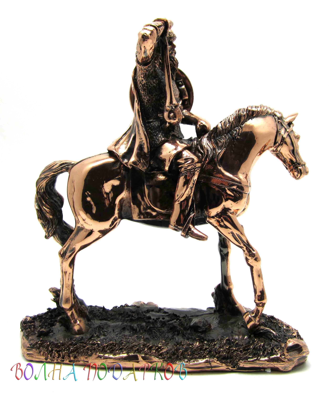 Статуэтка Богатырь на коне