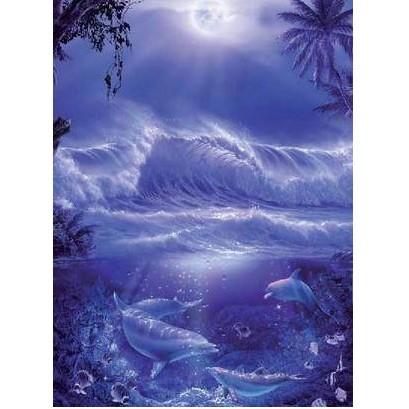 Пазл Ночной океан
