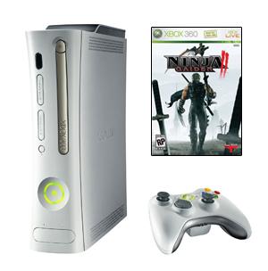 Microsoft XBox 360 Arcade + Ninja Gaiden 2