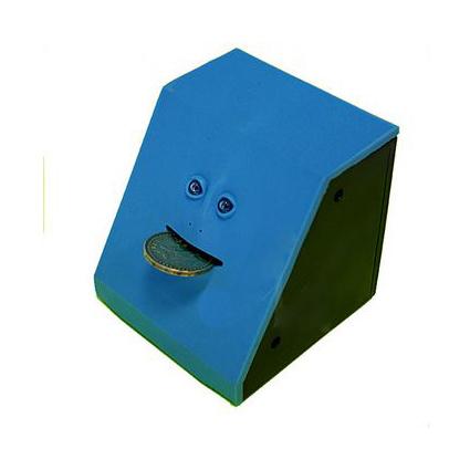 Жующая копилка синяя