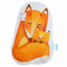 Декоративная подушка Лисички