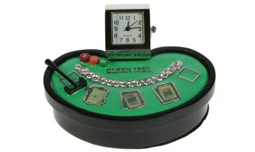Настольные часы Блэкджек