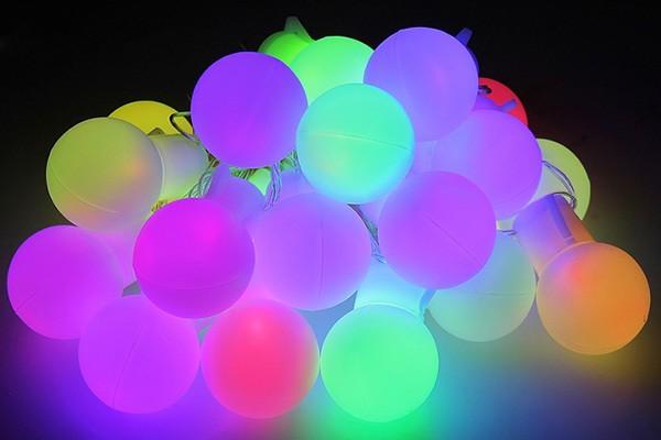 Гирлянда Метраж — Большие шарики