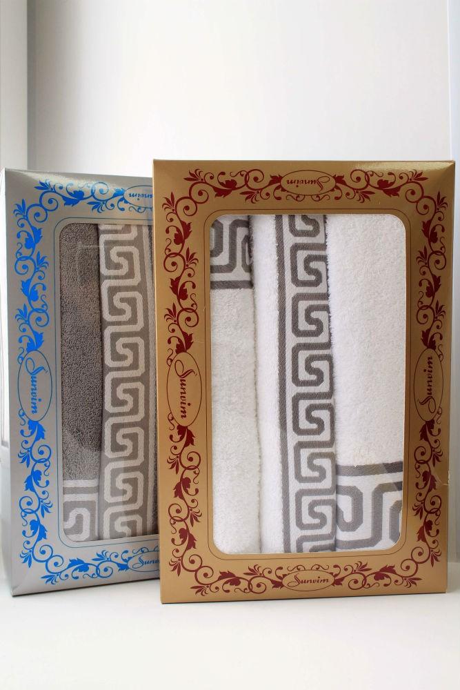 Подарочный набор полотенец Греческий