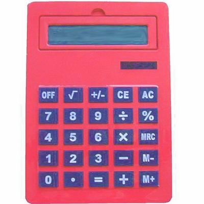Калькулятор большой А4 красный